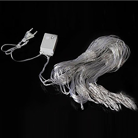 preiswerte Weihnachtsbeleuchtung-3m x2m 200leds hause im freien urlaub weihnachten weihnachten dekorative hochzeit net mesh string fairy vorhang girlanden streifen party licht