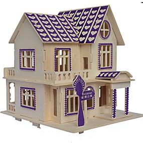 preiswerte Modelle & Modell Kits-Holzpuzzle Holzmodelle Modellbausätze Neuheit Klassisch Fokus Spielzeug Eltern-Kind-Interaktion Seltsame Spielzeuge Hölzern Künstlerisch