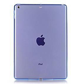 cheap iPad case-Case For Apple iPad Air / iPad 4/3/2 / iPad Mini 3/2/1 Transparent Back Cover Solid Colored Soft TPU / iPad (2017)