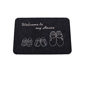 levne Podložky a koberečky-Moderní Koupelnové podložky Mikrovlákno Jednobarevné Kvádr