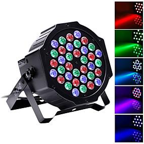 저렴한 무대 조명-U'King LED무대 라이트 / LED Par 라이트 DMX 512 / 마스터 슬레이브 / 음향 작동 36 W 용 파티 / 무대 / 웨딩 전문가용