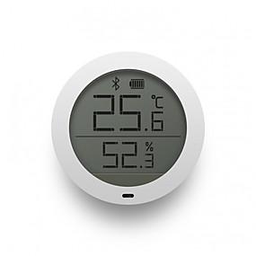 halpa Tunnistimet ja hälyttimet-xiaomi mijia bluetooth lämpötilan kosteusanturi LCD-näyttö digitaalinen lämpömittari kosteusmittari smart mi home app reaaliaikainen seuranta seinä tarra