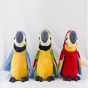 cheap Robots, Monsters & Space Toys-Electronic Pets Classic Theme Parrot Talking Lovely Electric Kid's Adults' Toy Gift / Parent-Child Interaction