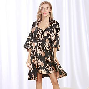 preiswerte Roben-Damen Anzüge Pyjamas-Druck,Solide