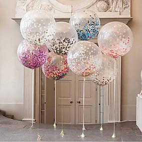 preiswerte Ballon-Ballon Latex Hochzeits-Dekorationen Hochzeit / Party / Abend Garten / Urlaub / Märchen Ganzjährig