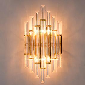 povoljno Lámpatestek-QIHengZhaoMing Kristal / Jednostavan / Modern / Comtemporary Metal zidna svjetiljka 110-120V / 220-240V 40 W / E14 / E12