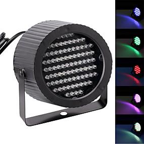 cheap Stage Lights-U'King LED Stage Light / Spot Light / LED Par Lights DMX 512 / Master-Slave / Sound-Activated 25 W for Party / Stage / Wedding Professional