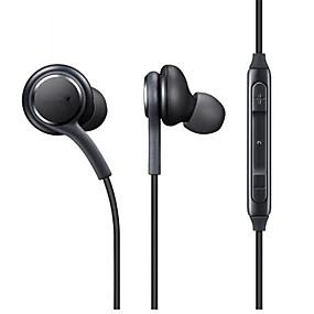 preiswerte Computer & Büro-eo-ig955 in Ohr verdrahtete Kopfhörer dynamische Kunststoff-Handy-Kopfhörer mit Mikrofon mit Lautstärkeregler Headset