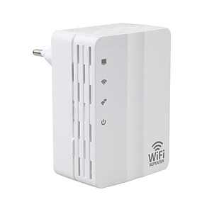 cheap Networking-wifi extender repeater 300Mbps 2.4GHz Wifi Range Extender AD-607U