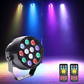 저렴한 무대 조명-U'King LED무대 라이트 / LED Par 라이트 DMX 512 / 마스터 슬레이브 / 음향 작동 15 W 용 파티 / 무대 / 웨딩 전문가용
