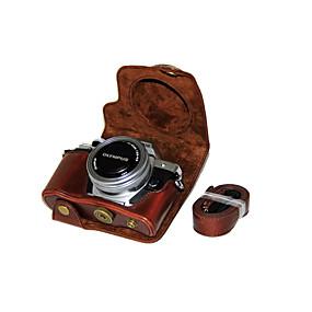 preiswerte Camera Bags & Cases-dengpin® PU-Leder-Kamera-Kastenbeutelabdeckung für Olympus E-m10 mark ii EM10 mark2 (14-42mm ez Linse (verschiedene Farben)