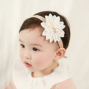 preiswerte Weihnachten-Baby Unisex Andere Haarzubehör Weiß Einheitsgröße / Stirnbänder
