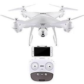 preiswerte Drones-RC Drohne SJ  R / C S70 4.0 6 Achsen 2.4G Mit HD - Kamera 2.0MP 720P Ferngesteuerter Quadrocopter Ein Schlüssel Für Die Rückkehr / Auto-Takeoff / GPS Ortung Ferngesteuerter Quadrocopter / ASTM
