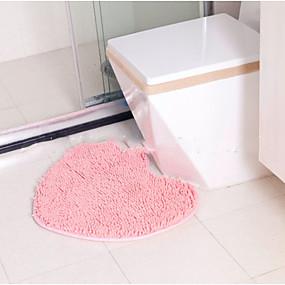 levne Podložky a koberečky-Na běžné nošení Koupelnové podložky Polyester Jednobarevné