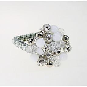 preiswerte Servietten-Ring-Europäischer Stil Metal Quadratisch Servietten Ring Tischdekorationen 12 pcs