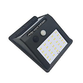 preiswerte LED Solarleuchten-Brelong 1 PC 4W 25led menschlicher Körper-Sensor-wasserdichten Flut-Weißlicht im Freien