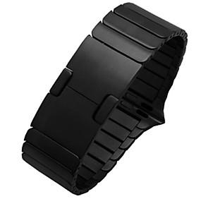 preiswerte Smartwatch-Zubehör-Uhrenarmband für Apple Watch Series 4/3/2/1 Apple Klassische Schnalle Edelstahl Handschlaufe