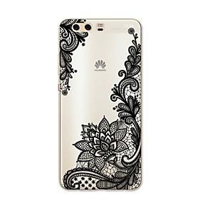 povoljno Maske za mobitele-Θήκη Za Huawei P9 / Huawei P9 Lite / Huawei P8 P10 Plus / P10 Lite / P10 Uzorak Stražnja maska Čipka Ispis Mekano TPU / Huawei P9 Plus