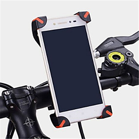 cheap Phone Mounts & Holders-Bike Mobile Phone Mount Stand Holder Adjustable Stand Mobile Phone Buckle Type ABS Holder