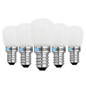 preiswerte Mehr Bestellen & Mehr Sparen-Brelong 5 Stück 2W 1LED dimmbare Kühlschrank Glühbirnen 220V E14 / E12 / weiß / warmweiß