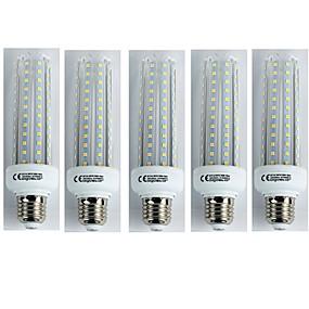 preiswerte Mehr Bestellen & Mehr Sparen-5 Stück 19 W LED Mais-Birnen 1600 lm E27 T30 96 LED-Perlen SMD 3528 Kühles Weiß 110-240 V