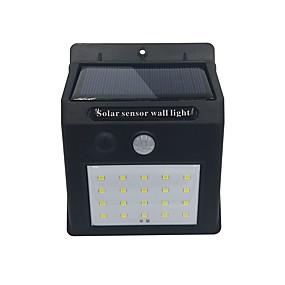 preiswerte LED Solarleuchten-Brelong 1pc 4w solar led flutlicht im freien beleuchtung weißes licht<5v