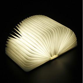 preiswerte Ungewöhnliche Lampen und Lichter-1pc Buch Nachttischlampe Eingebaute Li-Batterie angetrieben Faltbar / Wiederaufladbar / Einfach zu tragen