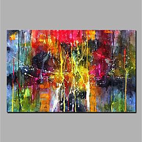 povoljno Apstraktno slikarstvo-ulje na platnu ručno oslikana apstraktna zidna slika valjanog platna uređenje doma