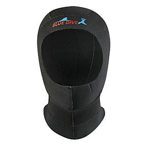 preiswerte Blue Dive®-Bluedive Taucher Kapuzen 3mm Nylon Neopren für Erwachsene - warm halten Rasche Trocknung Schützend Schwimmen Tauchen Surfen / Dehnbar / Patchwork / Herrn / Damen