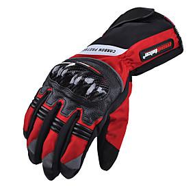 preiswerte Versandkostenfrei-Vollfinger Unisex Motorrad-Handschuhe Kohlefaser Windundurchlässig / Wasserdicht / tragbar