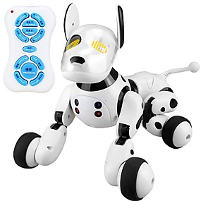 cheap Robots, Monsters & Space Toys-2.4G Wireless Remote Control Smart Dog Electronic Pets Robot Dog Dog Animal Singing Dancing Walking A Grade ABS Plastic Boys' Girls' Toy Gift / intelligent