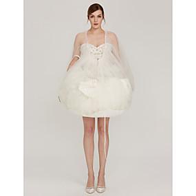 preiswerte Bridal Buddy-Hochzeit Unterhosen Netz Anzuglänge Einfach mit
