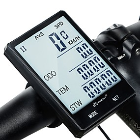 billige Sykkelcomputere og -elektronikk-INBIKE Sykkelcomputer Vanntett Stopur Trådløs Veisykling Sykling / Sykkel Sykling
