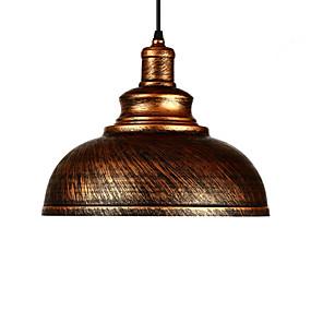 povoljno Stropna svjetla i ventilatori-promjer 29cm vintage svjetiljke za privjesak 1 svjetlo metalni sjeni dnevni boravak blagovaonica hodnik osvjetljenje