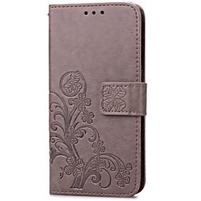 povoljno Maske za mobitele-Θήκη Za Samsung Galaxy S7 edge / S7 Utor za kartice / sa stalkom / Zaokret Korice Cvijet Tvrdo PU koža