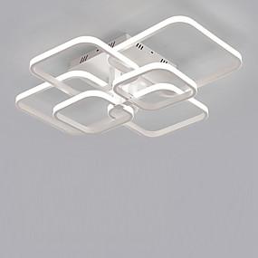 povoljno Stropna svjetla i ventilatori-6-glavni kvadrat moderna jednostavnost vodio stropni dnevni boravak blagovaonica spavaća soba svjetiljka