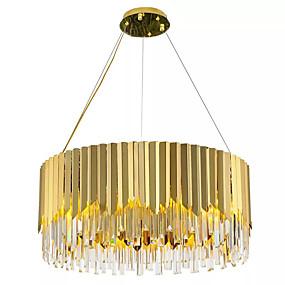 povoljno Lámpatestek-QIHengZhaoMing 8-Light Privjesak Svjetla Ambient Light Electroplated Crystal Crystal, Produžen 110-120V / 220-240V / E12 / E14