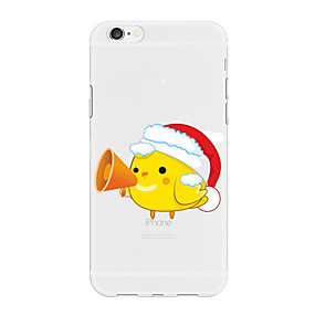 preiswerte Weihnachtsfälle-Hülle Für Apple iPhone X / iPhone 8 Plus / iPhone 8 Muster Rückseite Tier / Cartoon Design / Weihnachten Weich TPU