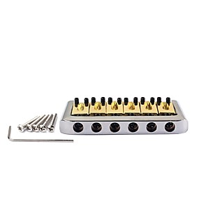 cheap Instrument Accessories-Professional Accessories High Class Electric Guitar New Instrument Brass Zinc Alloy Musical Instrument Accessories 7.6*4.4*0.95