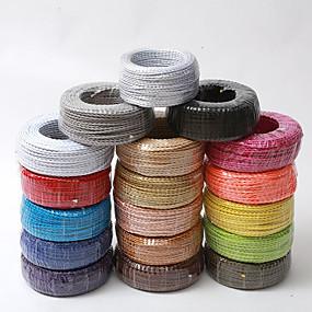 preiswerte Ausverkauf-ecolight® 5m / lot Vintage Stoff Kupferleiter eletrical 2 Draht 0,75 mm geeignet für Loft Licht