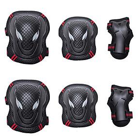 povoljno Zaštitnu opremu-Štitnici za koljena, laktove i dlanove za Inline klizaljke / Hoverboard / Role / koturaljke Prozračnost / Protective 6 komada