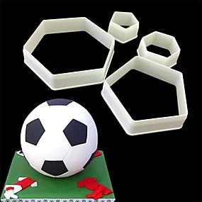 preiswerte Gifts for Soccer Fans-1 set Kunststoff Backen-Werkzeug Kreative Küche Gadget Für Kochutensilien Backwerkzeuge