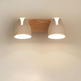 cheap LED Recessed Lights-35 cm Spot Light / Flush Mount Lights Wood / Bamboo Wood LED 110-120V / 220-240V