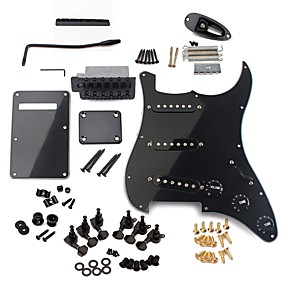 cheap Instrument Accessories-Electric Guitar Material / Plastic / Metal for Beginner ST Musical Instrument Accessories 31.5*25*5.3 cm Guitar / Electric Guitar