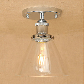 povoljno Lámpatestek-Privjesak Svjetla Ambient Light Electroplated Metal Glass Mini Style, Prozirno tijelo 110-120V / 220-240V Bulb Included / E26 / E27