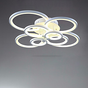 cheap Ceiling Lights & Fans-78 cm Flush Mount Lights Metal Acrylic Painted Finishes 85-265V