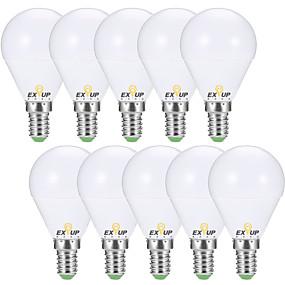 preiswerte 5% Rabatt-EXUP® 10 Stück 7 W 680 lm E14 / E26 / E27 LED Kugelbirnen G45 6 LED-Perlen SMD 2835 Dekorativ Warmes Weiß / Kühles Weiß 220-240 V / 110-130 V / RoHs / CCC / ERP / LVD