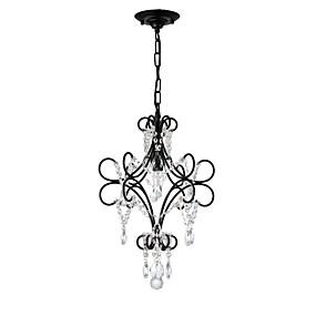 cheap Lantern Design-1-Light LightMyself™ 35 cm Chandelier Metal Painted Finishes LED / Traditional / Classic 110-120V / 220-240V