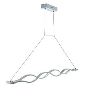 povoljno Viseća rasvjeta-2-svjetlosno linearno geometrijsko privjesak svjetlo dolje drugi metalni akrilni mini stil, vodio 110-120v / 220-240v toplo bijelo / bijelo / zatamnjen s daljinskim upravljačem