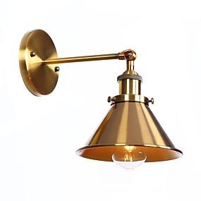 povoljno Lámpatestek-Protiv odsjaja Retro Modern / Comtemporary Zidne svjetiljke Za Stambeni prostor Trpezarija Magazien / Cafenele Metal zidna svjetiljka